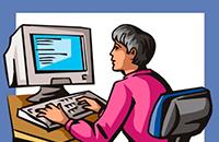 Обучение компьютерной грамотности пенсионеров равно инвалидов