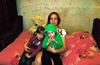 Помогите одинокой маме с Брянской Области справить диван