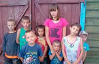 Поможем многодетной семье изо Омской Области (8 детей) сметь  со прилавка корову