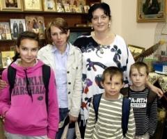 Семья Базаровых. Первый визит.
