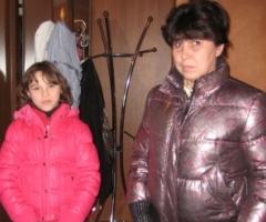 Семья Егурневых. Мама Галина с дочерью Илоной