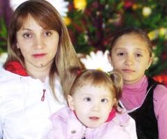 Семья Кононенко, Новосибирская область, 2 детей
