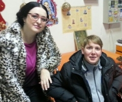 Света Андрюхина сирота, инвалид ДЦП на новогодних каникулах