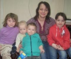 Марина С. и четверо детей. Реабилитация. Профилактика социального сиротства.