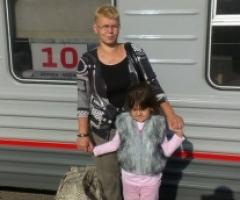 Наталья и Валерочка Нутаутас