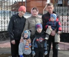 Помогите многодетной семье Малиновских собрать на корову!