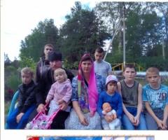 Помогите многодетной семье православного священника отвезти детей на море!