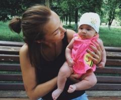 Помогите одинокой маме с грудным ребенком оплатить последний семестр обучения!