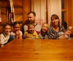 Поможем многодетной семье Смоляниновых (5 детей) с покупкой холодильника!