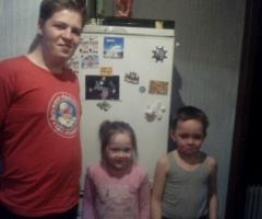 Помогите многодетной одинокой маме Виктории купить холодильник!