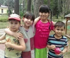 Помогите многодетной маме 6 детей оплатить долг за садик!