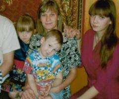Помогите многодетной семье Баяндиных (3 детей) провести отопление! Пермский Край
