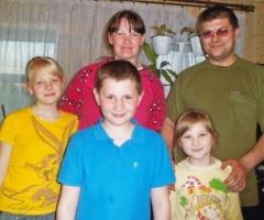 Помогите купить корову многодетной семье Петровых (3 детей) из Псковской Области!
