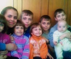 Поможем многодетной семье Матвеевых (8 детей) установить окна! (Ростовская Область)