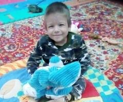 Витюша из Уссурийска, 4 года. Готовится к обследованию.