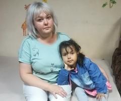 Наталья с дочкой Софией. Проект 'Профилактика социального сиротства'