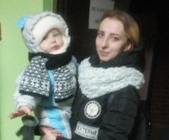 Альбина сирота с ребёнком (Проект 'Профилактика социального сиротства')