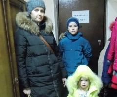 Марина Р. с детьми Никитой и Ариной
