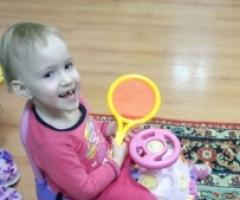 Сирота Милана из Краснодарского Края, 3 года. На реабилитацию.