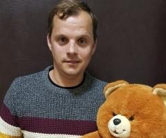 Сирота инвалид Сергей К. из интерната на каникулы