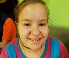Наталья А. 15 лет, инвалид без попечения родителей, на реабилитацию