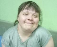 Юлечка инвалид (проект 'Дом Милосердия')