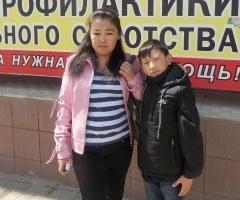 """Туйара и Глеб из Якутии (проект """"Профилактика социального сиротства"""")"""