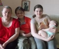 Семья Марчишиных (проект 'Профилактика социального сиротства')