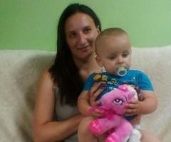 Елена и маленький Артем