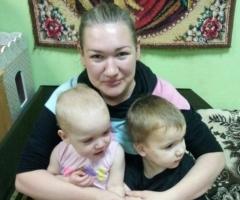 """Елена Н. и 4 детей (проект """"Профилактика социального сиротства"""")"""