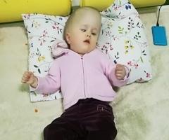 Сирота Ярослава из Бурятии, 2 года. На реабилитацию.