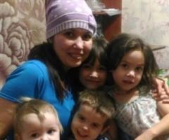 Вы наше спасение! Слезно прошу, помогите нам!!! Мальгинова К.И., 4 детей