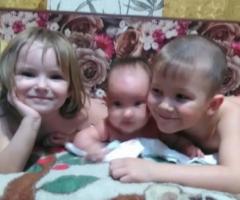 Помогите нам в трудное время, пожалуйста! Ветлугина А.Н., 3 детей
