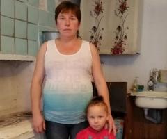 Одна воспитываю дочь, беременная, отец ребенка нас бросил! Помогите нам! Сальникова Л.В.