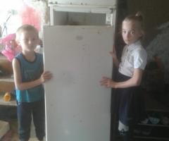 Только вы знаете, как плохо мы живем. Помогите нам купить холодильник! Щербина Т.Ю., многодетные 7 н/л детей