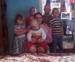 Для нашей семьи это огромные деньги, мы не знаем, что делать. Поэтому просим помощи! Юрьева В.А., 6 детей