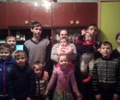 Дорогие благотворители, помогите нам кто чем сможет! Губарь Н.И., 11 детей