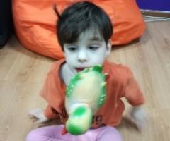 Ариша из Брянской области, 4 года. Поражение головного мозга, микроцефалия, умственная отсталость.