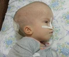 Сабрина из Камчатского Края, 7 лет. Проходит реабилитацию после очень тяжёлой операции.