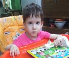 Ангелина из Приморского края, 6 лет