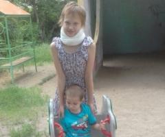 Я одна с двумя детьми, дочь инвалид. Помогите с продуктами! Соловьева С.А., одинокая мама