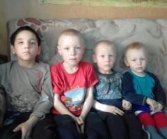 У меня 4 детей, я одна, ребенок инвалид. Помогите нам! Юносов Н.А., 4 детей