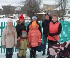 Наша семья испытывает в настоящее время финансовый кризис. Кудымова А.Ю., 6 детей