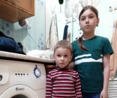 У нас большая семья и без стиральной машинки никак! Борновалова О.В., 9 детей
