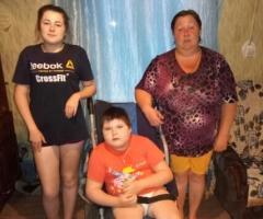 Муж от нас ушел как только родилась младшая дочь - инвалид. Шилова М.В., 2 детей, один инвалид