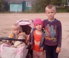 Не могу собрать детей в школу, помогите! Павлова В.В., многодетная мама 3 детей из Вологодской области.
