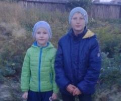 У нас уже холодно, мальчики болеют, очень нужны дрова! Кунц С.В. одинокая мама