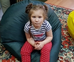 Варенька 7 лет из Приморского Края, ДЦП