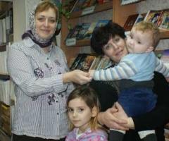 Семья Пахомовых