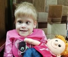Танечка из Хакасии, 9 лет. Врождённый порок развития позвоночника, головного и спинного мозга.